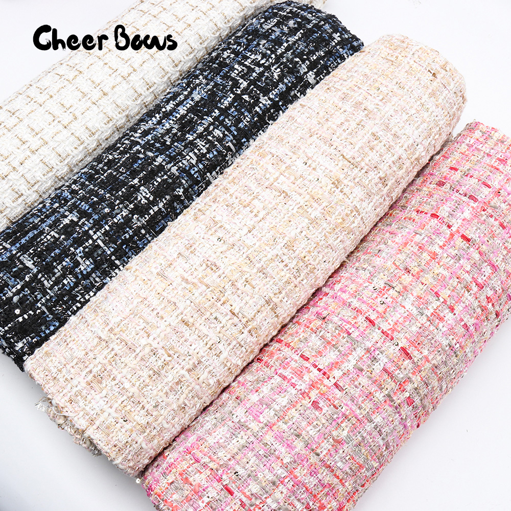 45*150 см Рождественская ткань, скандинавский ветер, снежинка, олень, ткань для одежды, детские куклы, домашний текстиль, шитье, лоскутное шитье