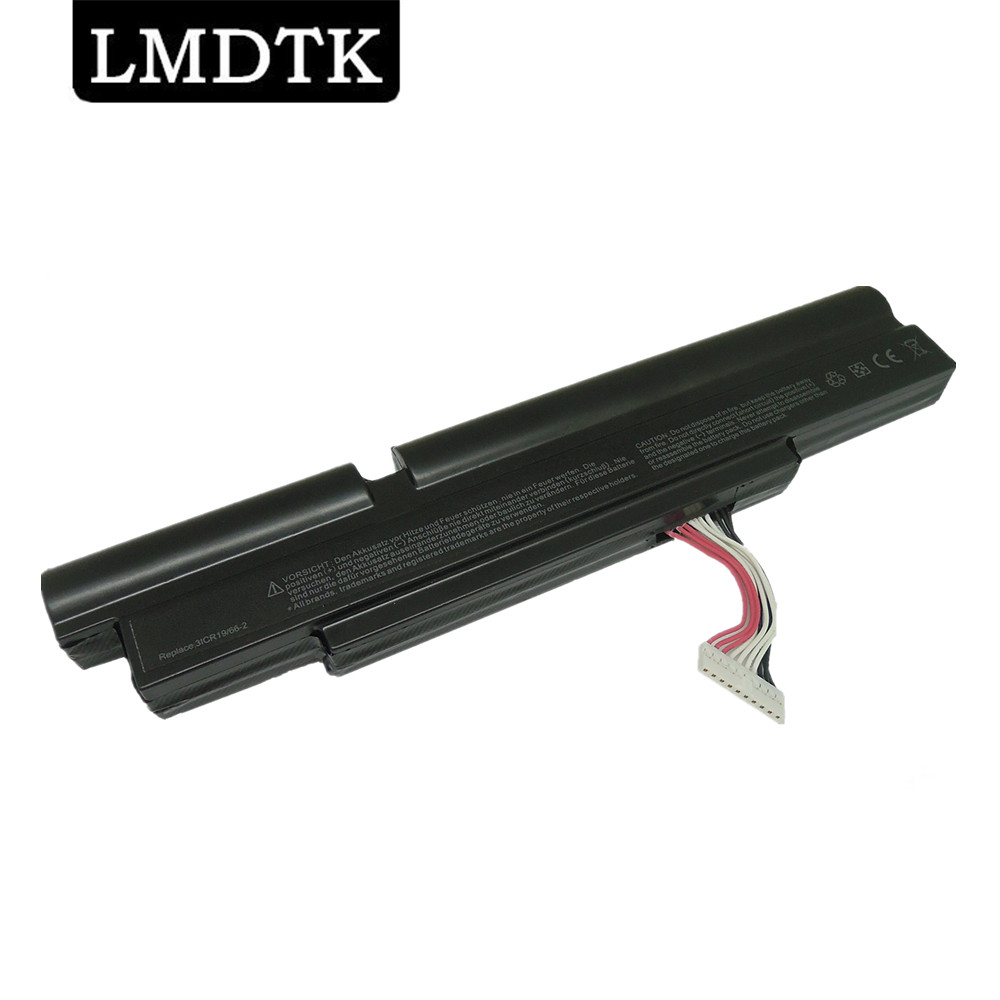 LMDTK New 6 cells laptop battery for ACER Aspire TimelineX 3830T 4830T <font><b>4830TG</b></font> 3ICR19/66-2 AS11A3E AS11A5E FREE SHIPPING image
