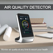 Tuya Wifi Digitale CO2 Meter Luchtkwaliteit Monitor Laser PM2.5 Detector Tester Gas Monitor/Gas Analyzer/Temperatuur Vochtigheid meter