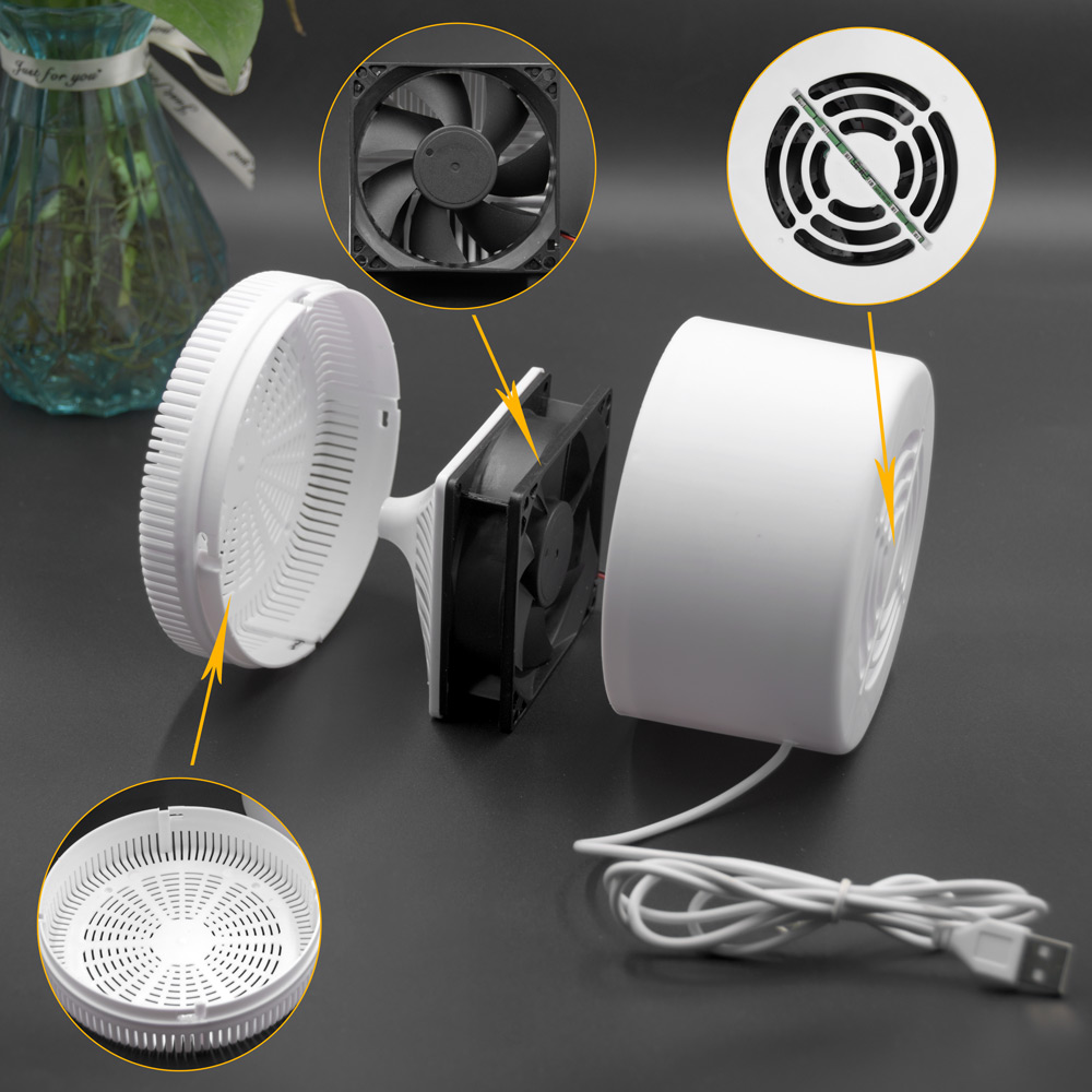 ANYIGEDEJU-matamoscas 3D LED, lámpara creativa, trampa para mosquitos, raqueta 3