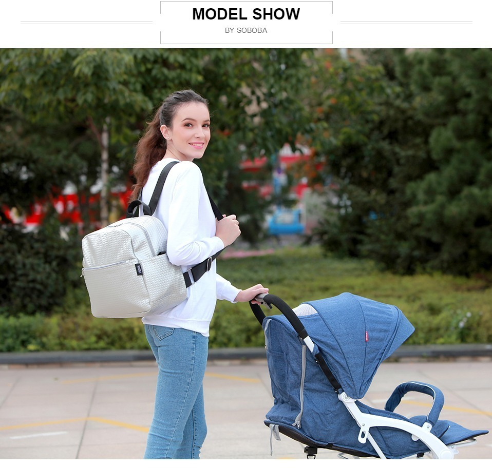 H4e1e6e5e2b564e48b44addf08dc834b7Y Soboba Mommy Maternity Diaper Bags Solid Fashion Large Capacity Women Nursing Bag for Baby Care Stylish Outdoor Mommy Bags
