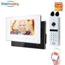 Видеодомофон домофонный wi fi 1 дверной звонок 2 домашних звонка