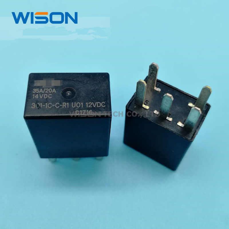 5 adet/grup yeni orijinal röleler GSM-S-112DM PBH34012 301-1C-C-R1 U01 12VDC HF105-4-220AK-1ZST