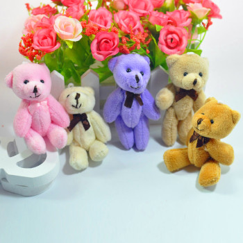 Cartoon Teddy Bear Plush Toys with Tie Soft Stuffed Animal Toys for Children Kids Girls Birthday Gift Baby Brinquedos Uncategorized Decoration Stuffed & Plush Toys Toys