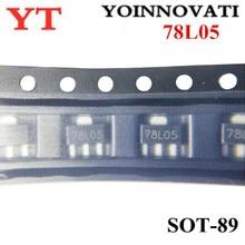 3000 قطعة/الوحدة 78L05 L78L05 7805 الجهد منظم 5 V 100mA سوت 89 SMD أفضل جودة