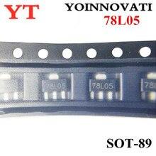 3000 pcs/lot 78L05 L78L05 7805 régulateur de tension 5 V 100mA SOT 89 SMD meilleure qualité