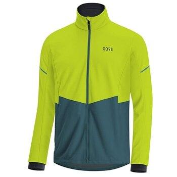 GORE WEAR-jersey térmico de lana para ciclismo para hombre, kit de bicicleta...