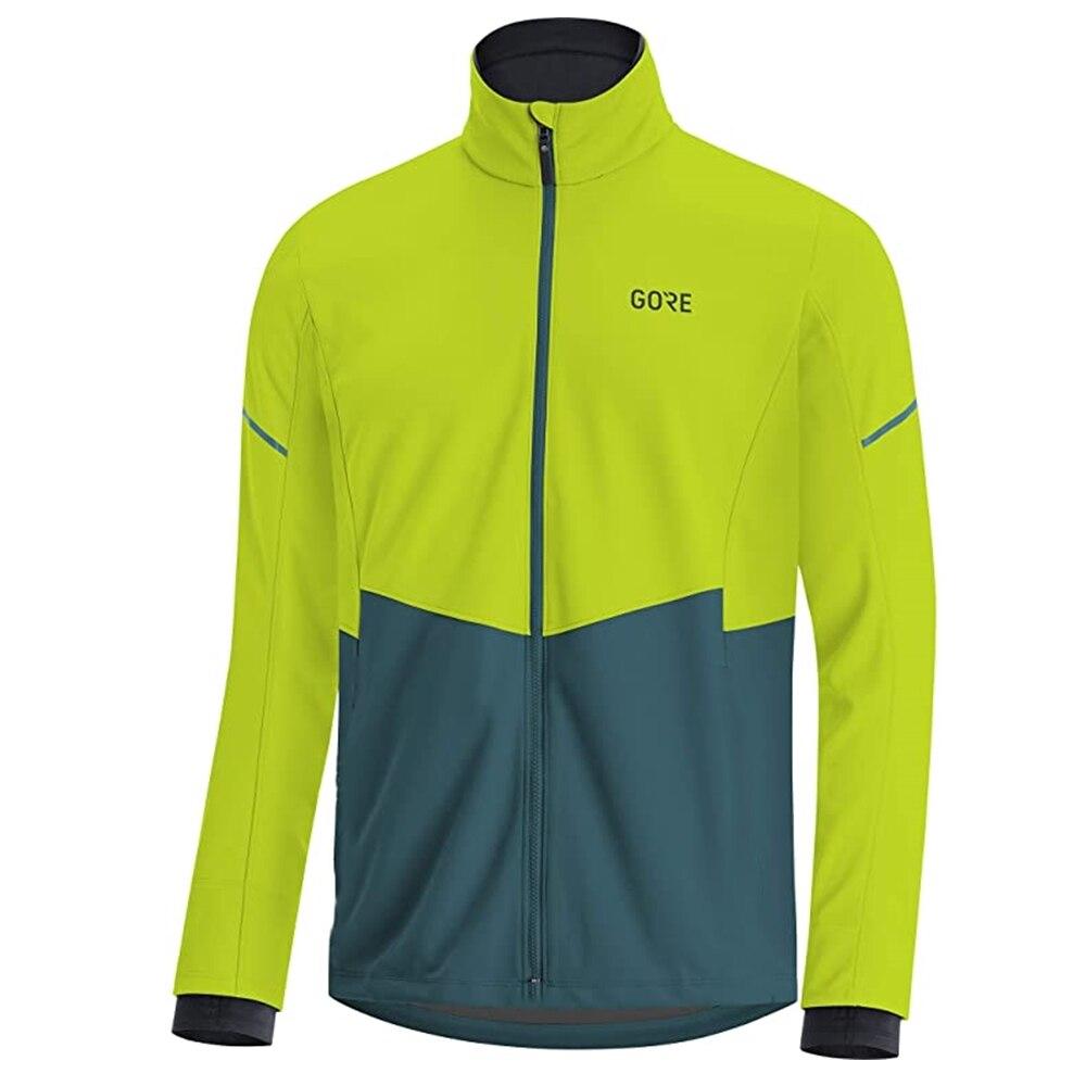 Гор одежда мужская зимняя теплоизолирующего флиса Велоспорт Джерси велосипед набор на открытом воздухе для верховой езды maillot ciclismo MTB Одежд...