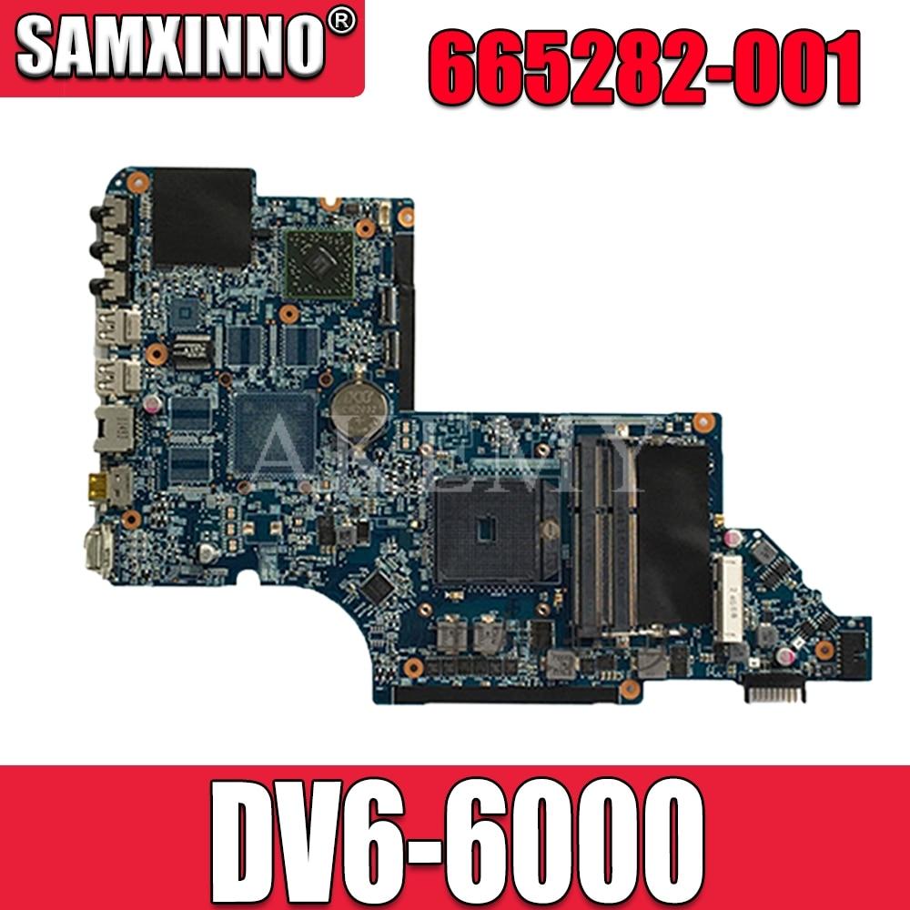 HP Pavilion dv6 dv6-6000 series intel Laptop motherboard 659150-001