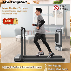 WalkingPad Treadmill R1 Pro Folding Upright Storage 10Km/H Speed Run Walk 2in1 Fit APP Control With Handrail Home Cardio Workout