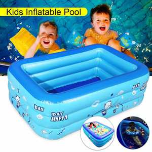 Swimming-Pool Inflatable-Pool-Ocean-Ball Baby Kids Bathing-Tub Square Home-Use Children