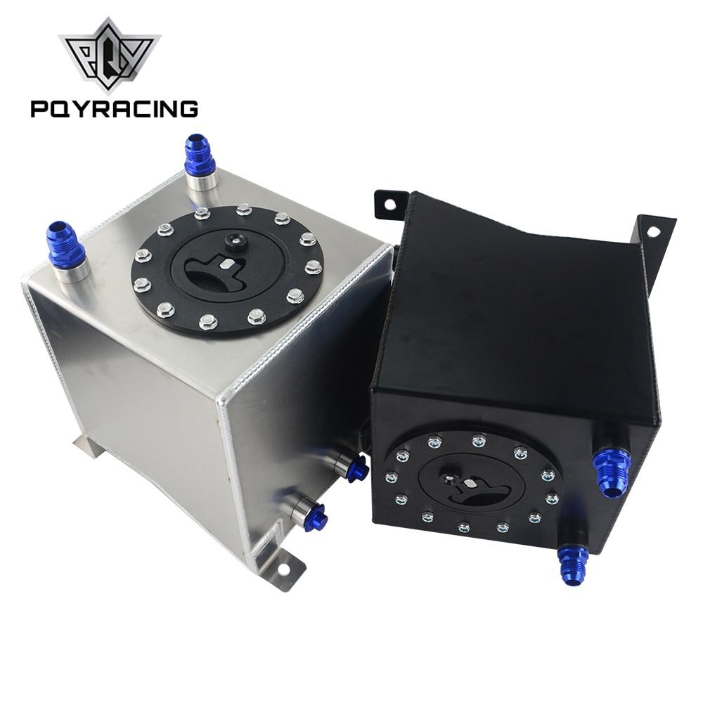 PQY - 2.5 Gallon 10L Aluminum Race Drift Fuel Cell Tank Fuel Surge Tank Without Level Sender PQY-TK13