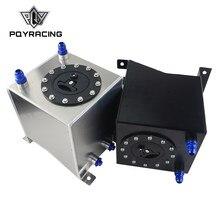 PQY-2,5 Gallonen 10L Aluminium Rennen Drift Brennstoffzellen Tank Kraftstoff Surge Tank Ohne Niveau Sender PQY-TK13