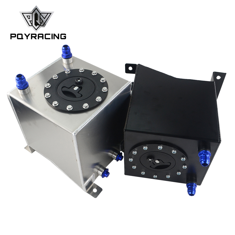 PQY-2.5 galon 10L alüminyum yarış Drift yakıt hücresi tankı yakıt tankı olmadan seviyesi sensörü PQY-TK13