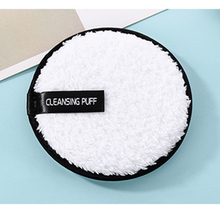 Make up remover promotes healthy skin Microfiber Cloth Pads Remover Towel Face Cleansing Makeup Lazy cleansing powder puff