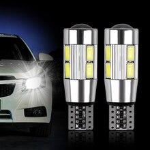 2 pces led carro luz dc 12v smd 5630 baixa temperatura potência dura até 50k horas led lâmpada estacionamento t10 led para muitas aplicações do lugar