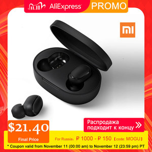 Image 1 - Xiaomi Redmi Airdots TWS Wireless Bluetooth Earphone Stereo With Mic Handsfree AI Control Bluetooth 5.0 Headset Bass Eeadphones