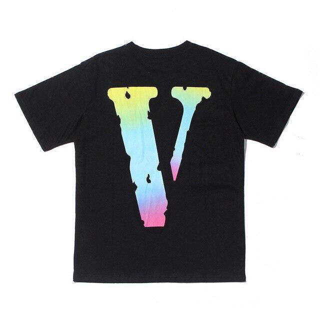 VLONE Streetwear Cotton  T-Shirt  1