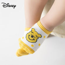 Disney men and women baby socks Minnie Mickey pattern ultra-thin mesh breathable short children's socks(China)