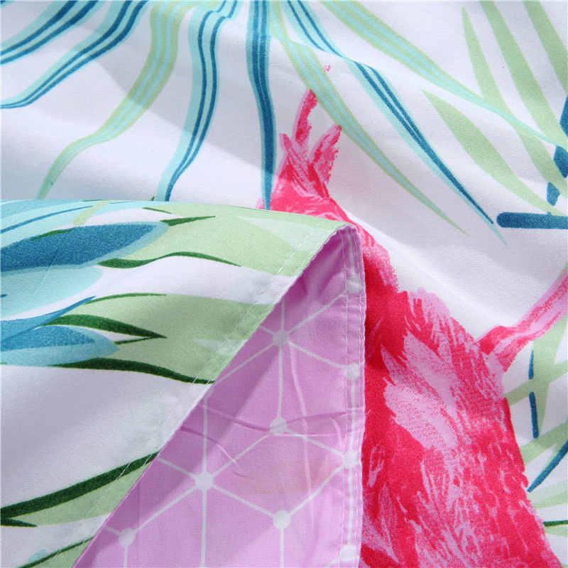 Leaf 4pcs Girl Boy Kid Bed Cover Set Cartoon Duvet Cover Adult Child Bed Sheets And Pillowcases Comforter Bedding Set 2TJ-61002
