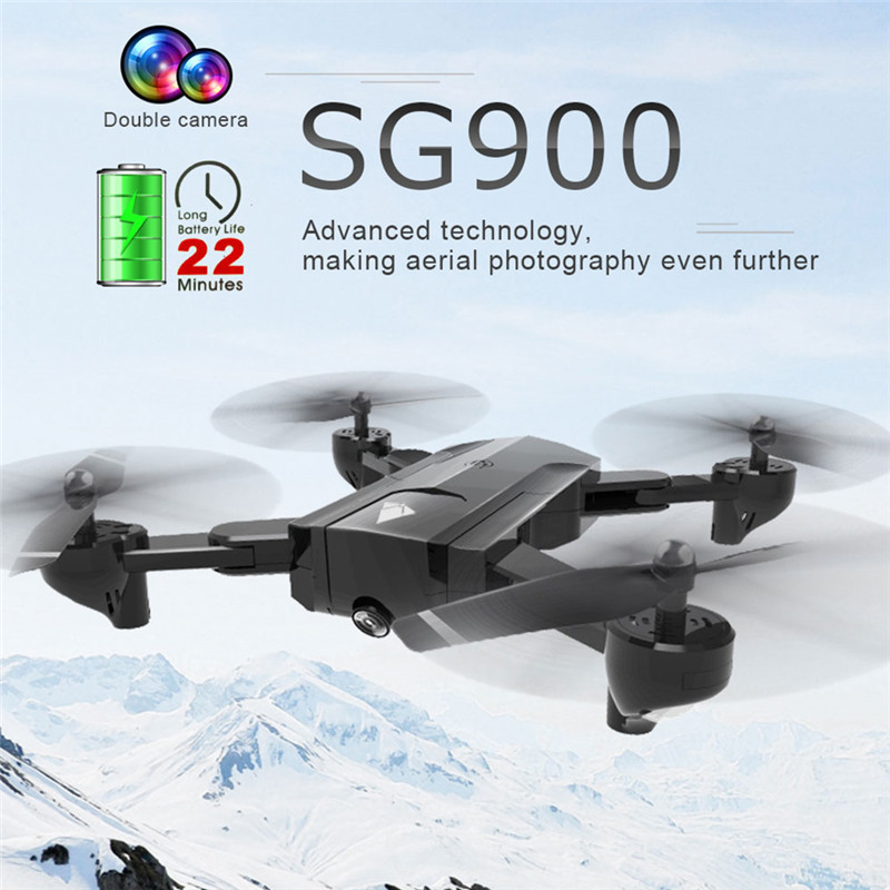 SG900 Drone with 720P Camera HD 22minutes long flight Professional FPV Quadcopter RC Helicopter Follow Me PK SG900S US Stock