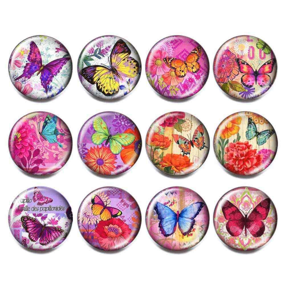 6 pz/lotto di Colore Alla Moda Misto del Cuore Della Farfalla Lupo Fiore Infinity 18 millimetri Con Bottone A Pressione Delle Donne Dei Monili di Amicizia Regalo di Commercio All'ingrosso