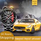 Мужские часы с ободком колеса NEKTOM, водонепроницаемые креативные спортивные часы из нержавеющей стали, на заказ