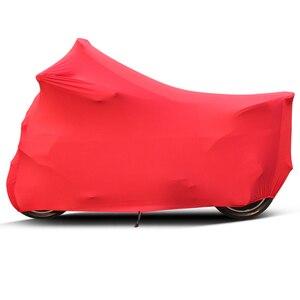 Image 4 - Capa da motocicleta universal ao ar livre protetor uv todas as estações à prova ddustágua bicicleta chuva dustproof scooter do motor capa