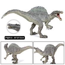 4 colour Jurassic Dinosaur Spinosaurus Model Carnivores Animal Biology World Park Doll Toys Gift for Children 30CM