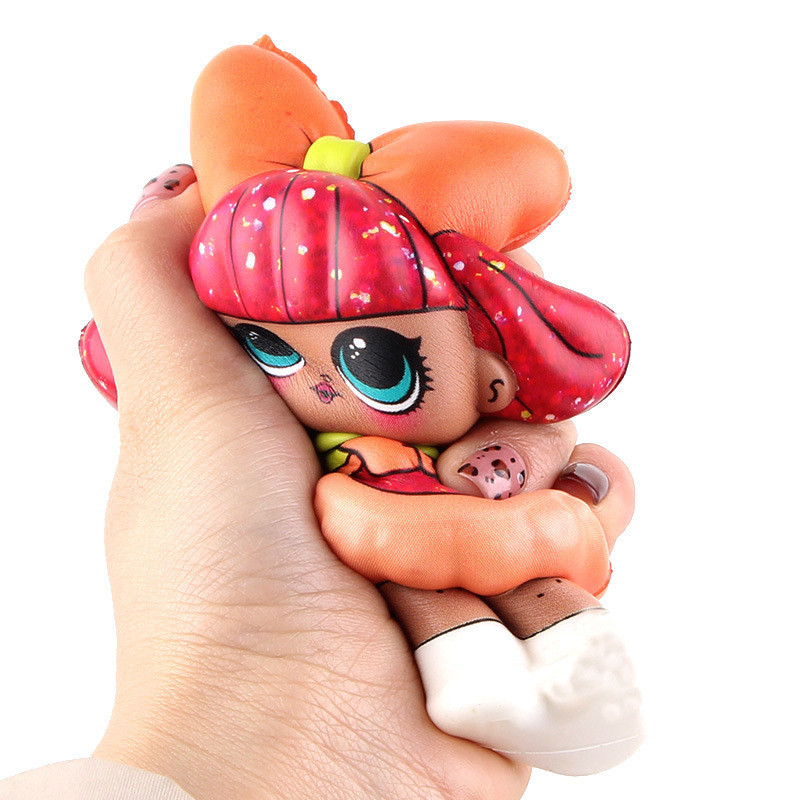 1 Piece Squishy Mini Squishy PU Set Toys Surprice Dolls Figures  Stress Relief Funny Gift Decoration 12cm