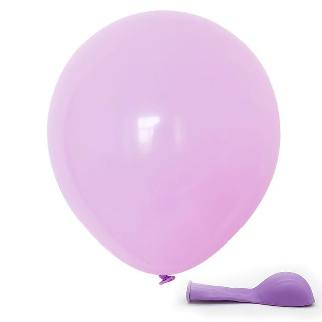 "12"" Macaron Pastel Balloon Unicorn Candy Birthday Wedding Xmas Party Baloons UK"