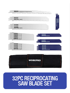 As lâminas de serra de workpro 25