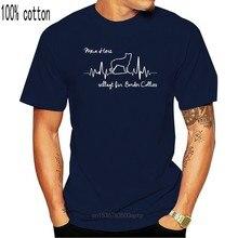 2020 heißer verkauf Mode T-Shirt HERZSCHLAG BORDER COLLIE mein Herz Hunde Hund Siviwonder T hemd