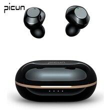 Picun JS6 אלחוטי אוזניות פעיל רעש ביטול אוזניות Bluetooth 5.1 ספורט אוזניות ANC TWS ב אוזן אוזניות