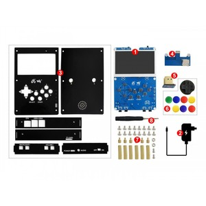Image 5 - GamePi43 Add ons for Raspberry Pi 4 to Build GamePi43 Raspberry Pi Game Pad Handheld Game Hat with 4.3inch IPS Display