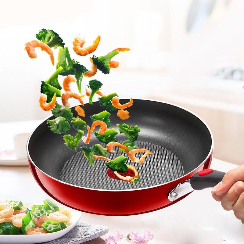 Pan Frying Pan Non-stick Pancake Pan Cooking Pancakes Household Gas Gas Induction Cooker Universal Wok Kitchen Cookware Cast