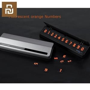 Image 3 - Чехол карта для телефона Bcase TITA, с откидной крышкой, для парковки, мини украшение для автомобиля Mi Life
