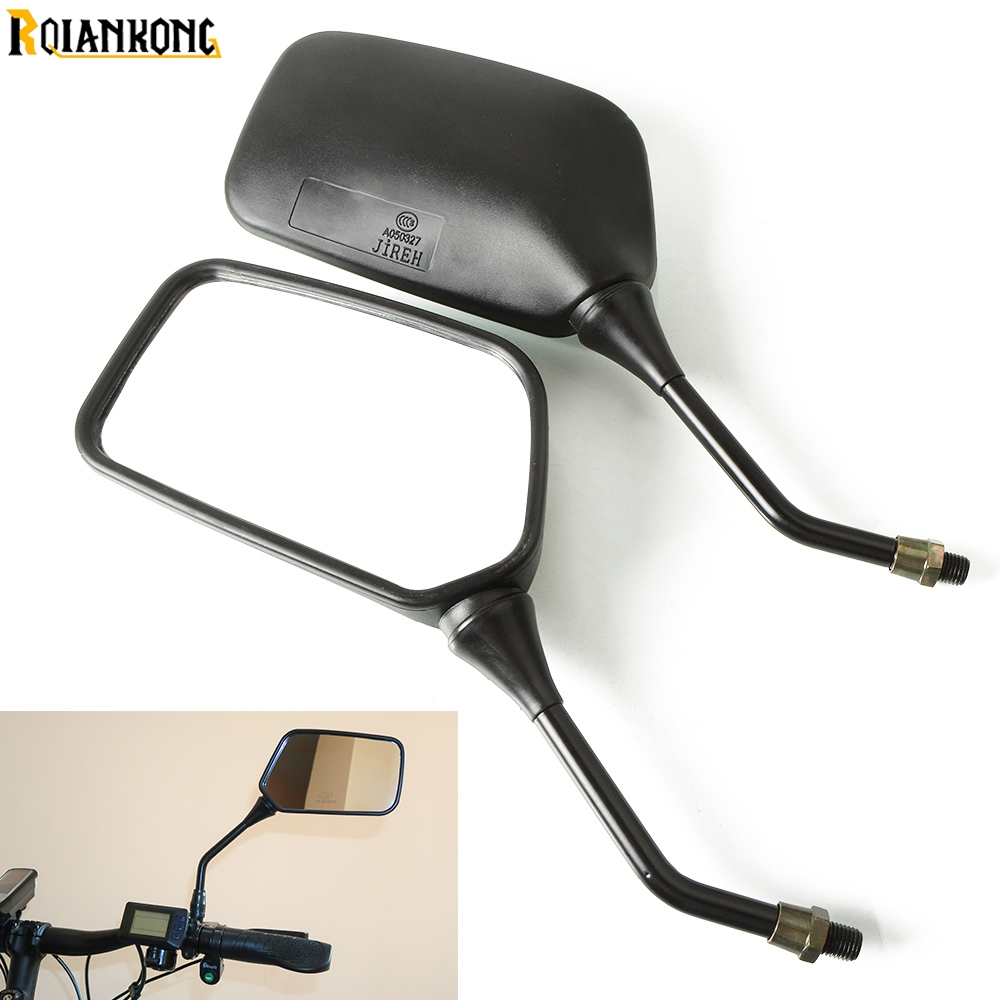 Motorcycle scooter <font><b>parts</b></font> motorbike side mirror For Kawasaki <font><b>KX</b></font> KLX KFX KDX 65 80 85 <font><b>125</b></font> 250 250F 450F 450R 150S Z800 Z900 Z1000 image