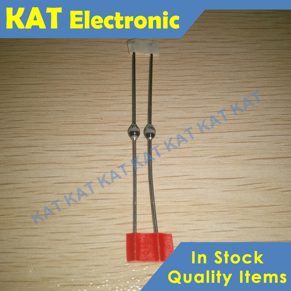 5PCS/lot BY203-16S BY203-16 SOD-57 1600V 250mA Fast Avalanche Sinterglass Diode