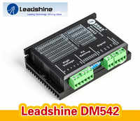 Leadshine Microstep Driver Leadshine 2 Phase Stepper Driver DM542 20-50VAC 1.0-4.2A for CNC Router for NEMA23stepper motor