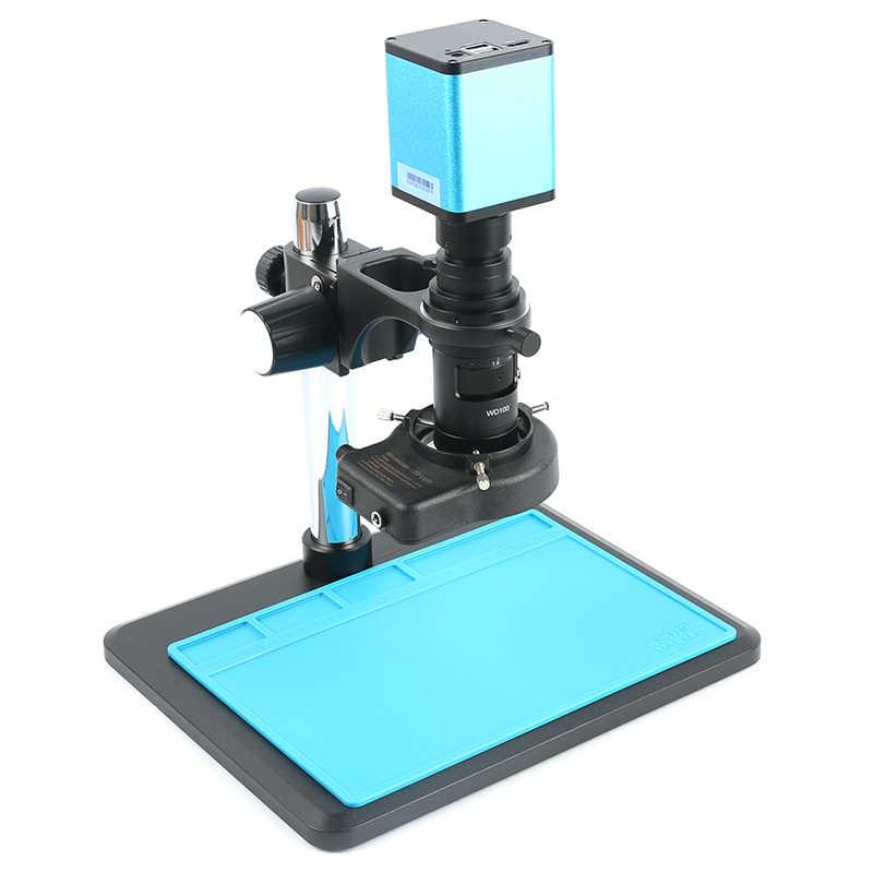オートフォーカスソニー IMX290 HDMI デジタルビデオ顕微鏡カメラ 200X C マウント電気 Microscopio 拡大鏡セットラボ用/PCB 検査