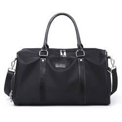 Мужские размеры Новые стильные водонепроницаемые Туфли-оксфорды на ремешке из ткани для путешествий сумка для багажа Сумка для короткой