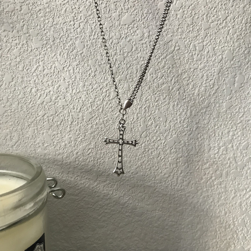 Купить женское винтажное ожерелье из серебра 925 пробы с подвеской