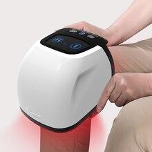 חם 650nm לייזר הברך טיפול הברך אוויר לעיסוי הברך כאב פיזיותרפיה טיפול מגנטי עבור דלקת מפרקים ניוונית דלקת פרקים שגרוניים