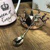 Nordic Wind Pink Crown Cup Ins Mug Spoon Coffee Mug Creative Ceramic Water Milk for Breakfast Cups and Mugs Girl Gift Cute 5