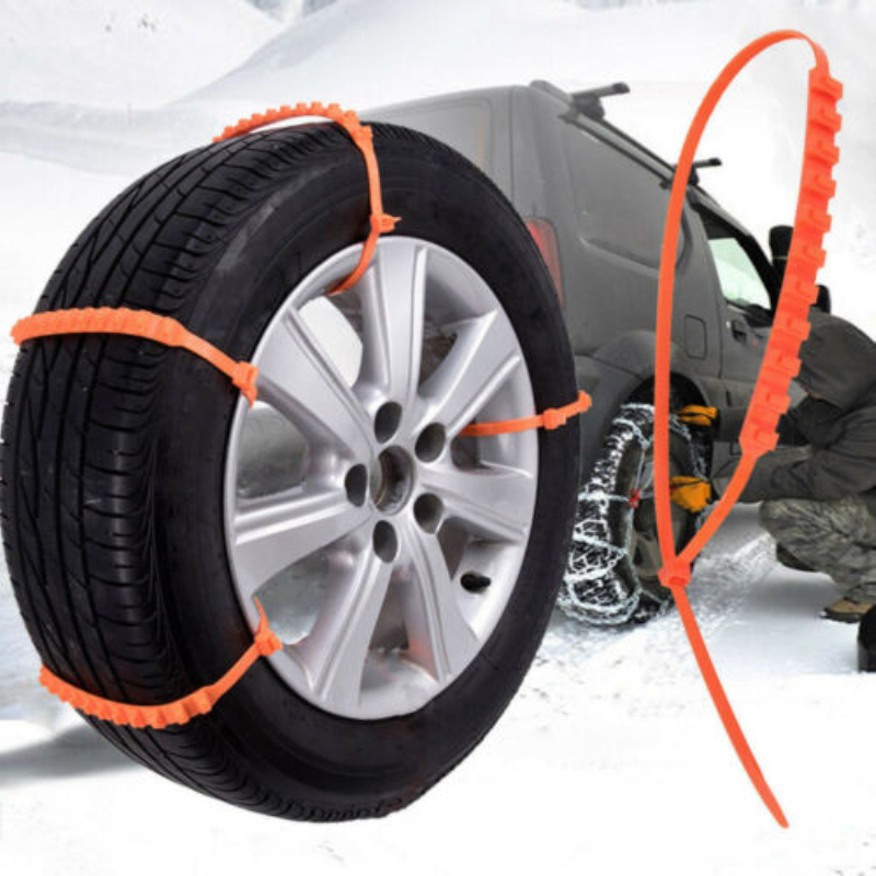 10pcs/ Lot Car Universal Mini Plastic Winter Tyres wheels Snow Chains For Cars Suv Car-Styling Anti-Skid Autocross Outdoor image