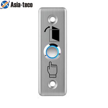 Przycisk wyjścia ze stali nierdzewnej przełącznik wciskany czujnik drzwi otwieracz do otwierania zamek magnetyczny kontrola dostępu tanie i dobre opinie LUCKING DOOR 8 6*3*3cm CS10B