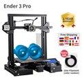 Новейший 3d принтер Ender-3 Pro  набор для самостоятельной Печати Creality 3d обновленная Cmagnet  сборка пластины  восстановление после отключения питан...