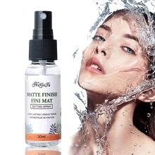 Líquido fundação hidratante hidratante hidratante de longa duração maquiagem configuração spray rosto óleo controle matte base finish fixer retentor
