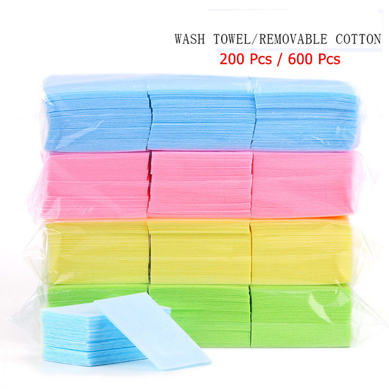 Nail Polish Remover Wipes Cleaning Lint Free Paper Pad Soak off Remover Manicure tool 1